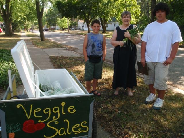 Veggie Wagon Youth Vendors Needed!